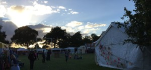 Evening at Cornucopia Festival Burton Constable 2016