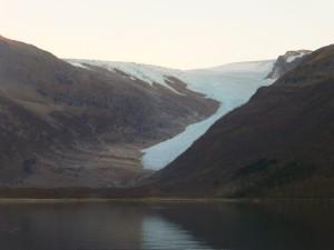 Retreating Svartisen Glacier, Norway