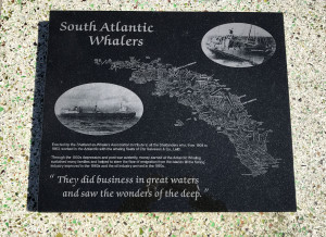 Shetland South Atlantic Whaler Memorial Plaque