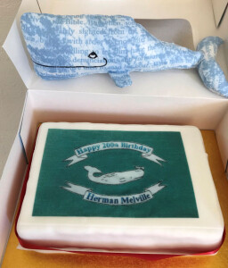 Whale and Cake for Melville's 200th Birthday